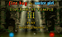 Fireboy And Watergirl In The Forest Temple 3
